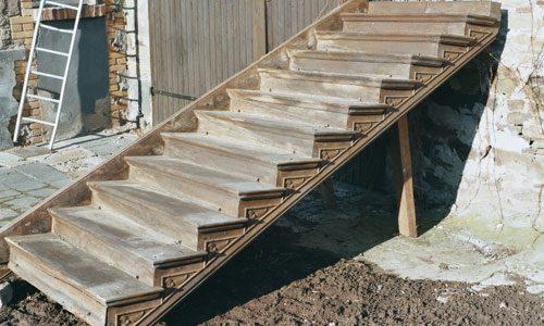 Treppe - antikes Baumaterial Klaus Stommel