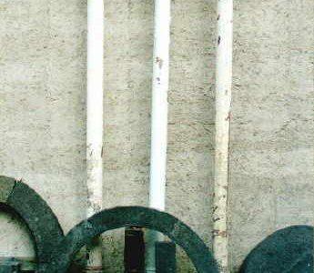 Säule Eisen - antikes Baumaterial Klaus Stommel